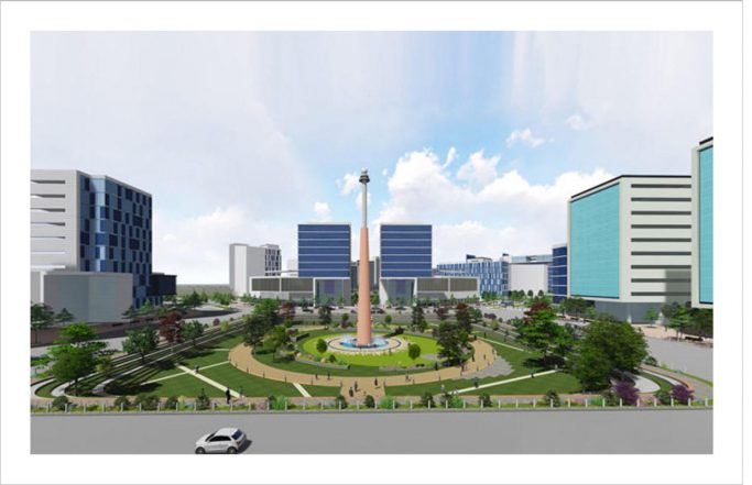 Urban Landmark Square